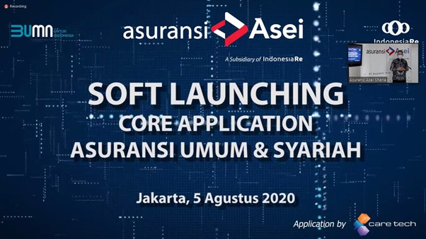 Soft Launching Core Application Asuransi Umum & Syariah PT Asuransi ASEI Indonesia